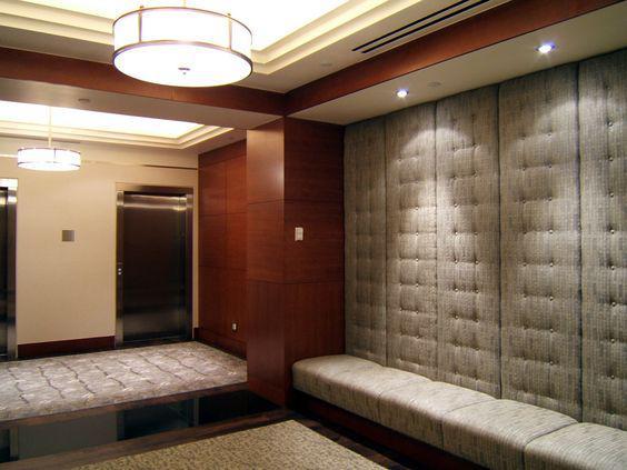 Прихожая дизайнерское решение - стеновые панели