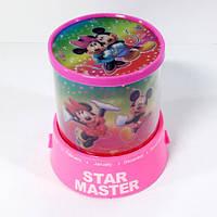 Проектор звездного неба Star Master Mikky Pink