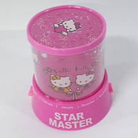 Проектор звездного неба Star Master Kitty Pink