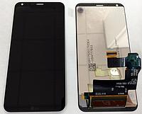 Оригинальный дисплей (модуль) + тачскрин (сенсор) для LG Q6 | Q6+ | Q6α | M700 | M700A | M700N (черный цвет)