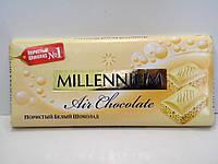 Шоколад Millennium белый пористый 90г