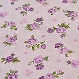 """Гардины """"Lilac rose"""" с кантом и кружевом 170х145, фото 3"""