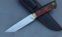 """Нож ручной работы """"Грифон"""" из порошковой стали Ди-90, мозаичный пин, длина 270 мм"""