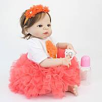 """Кукла реборн девочка """"Маленькая красавица"""" полностью из винил-силикона /Кукла,пупс reborn"""