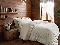 Жаккардовый комплект постельного белья Tivolyo Home евро размера Vitaly 4136606952fd3