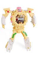 Детская игрушка SUNROZ Robot Watch часы робот-трансформер Желтый (SUN0649) , фото 1