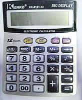 Калькулятор настольный KENKO KK-8151-12 ( калькулятор для работы )
