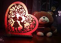 Соляная лампа Сердце любовь
