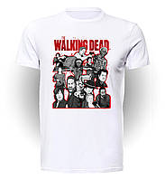 Футболка мужская размер L Geek Land Ходячие Мертвецы The Walking Dead character collage WD.001.45