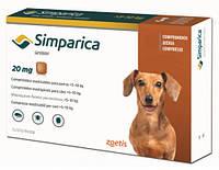 Zoetis Simparica таблетка от блох и клещей для собак (Симпарика)