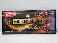 Шоколад Millennium черный пористый 90г