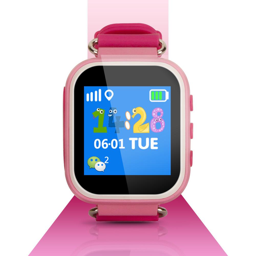 T06S Smart Baby Watch детские смарт часы с трекером, розовые