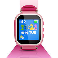 T06S Smart Baby Watch детские смарт часы с трекером, розовые, фото 1