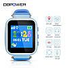 T06S Smart Baby Watch детские смарт часы с трекером, синие