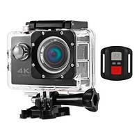Экшн камера 4K WiFi 2.4G Ultra HD Waterproof with Remote Control (BLACK)