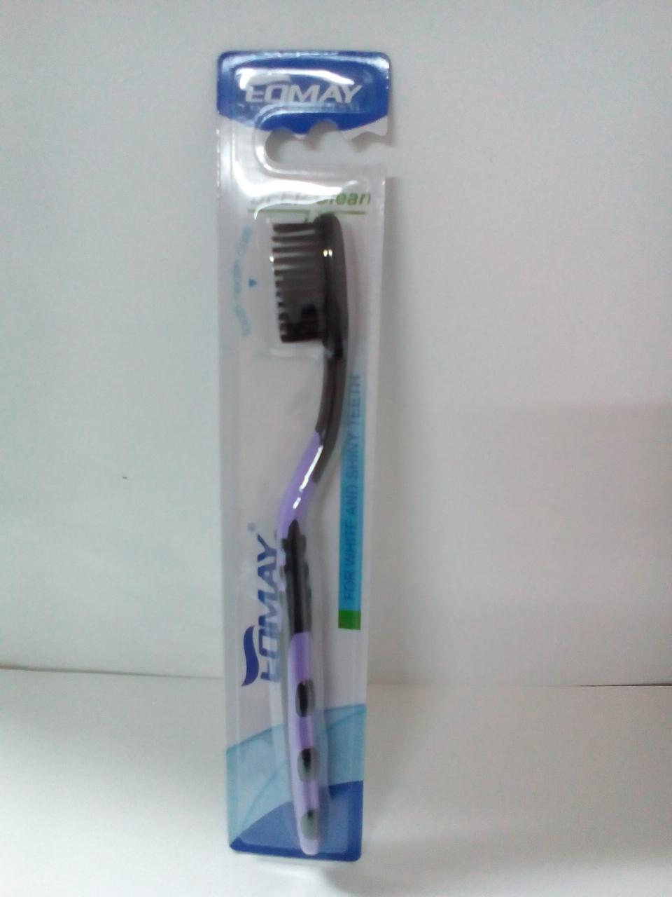 Зубная щетка TOMAY 9811 -чёрная very soft