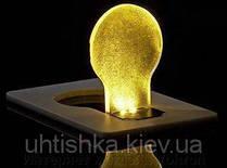 Карманный светильник - визитка Лампочка