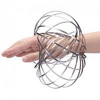 Кинетические кольца, Торофлакс, Toroflux, кинетическая игрушка, антистресс + Спиннер в подарок