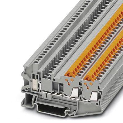 Клемма с зажимами для быстрого подключения Phoenix Contact QTCU 1,5-TWIN - 3050044