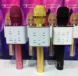 Беспроводной микрофон караоке bluetooth Q7(В коробочке)