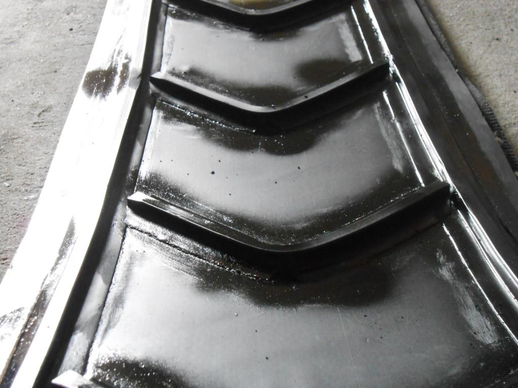 Шевронирование (рифление) ленты конвейерной