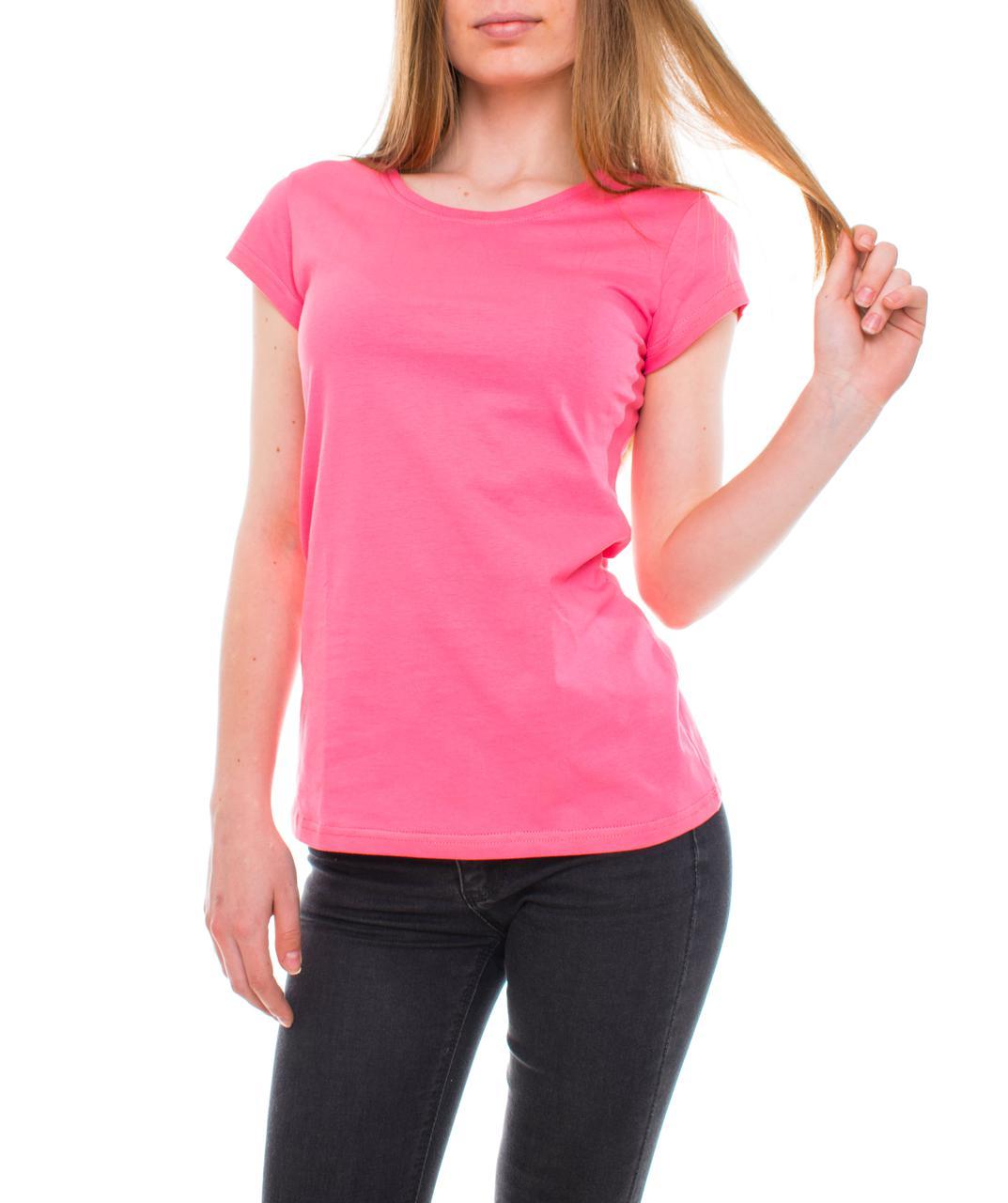 Bono Футболка  женская розовая 000181