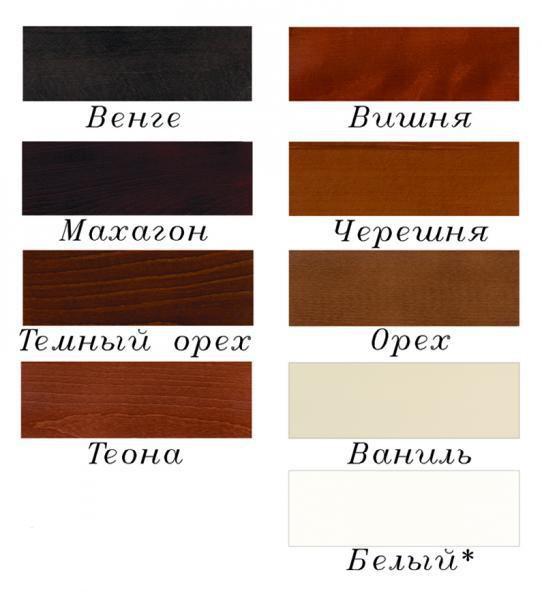 столы из дерева цвет покраски фото