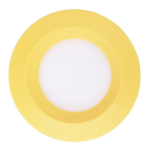 Светильник светодиодный встраиваемый 3w Feron AL525 4000К желтый