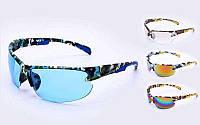 Очки спортивные Хаки (пластик, акрил, цвета в ассортименте), фото 1