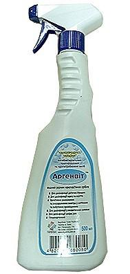 Спрей Аргенвит антибактериальний, противогрибковый и  противовирусный препарат, 500 мл