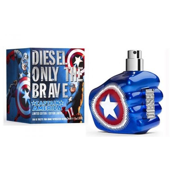 Diesel Only The Brave Captain America EDT 75 ml (лиц.)