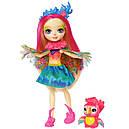 Кукла Enchantimals попугай Пики Какаду с питомцем FJJ21, фото 2