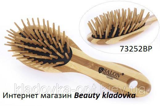 Расчёска массажная Salon Professional 73252BP дерево
