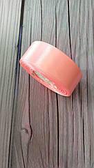 Атласная лента 2,5 cм Розовая