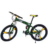 "Велосипед Land Rover - Green 26"" (сталь-05)"