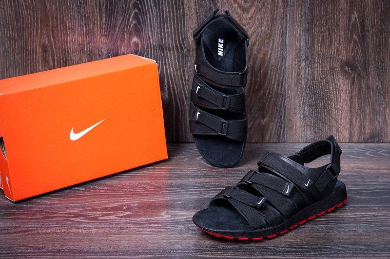 9f170ca23af0 Мужские кожаные сандалии Nike Summer life black реплика: продажа, цена в  Киеве. сандалии и ...