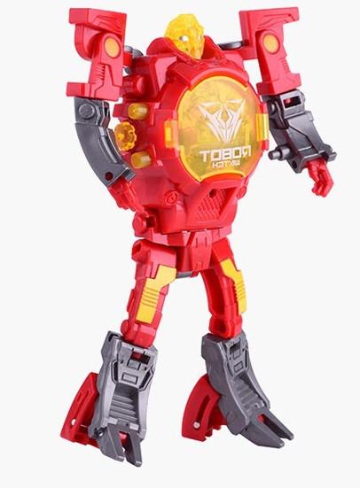 Детская игрушка CHANGQING TY131 часы робот-трансформер Красный (SUN0651)
