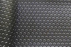 Черный турецкий Автолин Соты для автобусов, маршруток и автомобилей, 1,8 м ширина, на метраж, фото 2