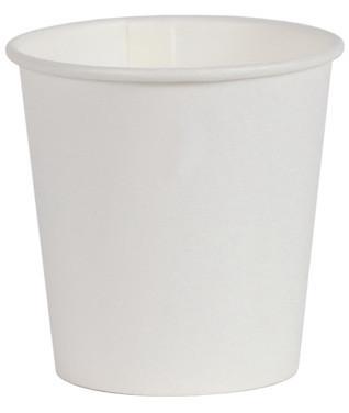 Стакан бумажный белый 110 мл Лорипласт в уп. по 50 шт.