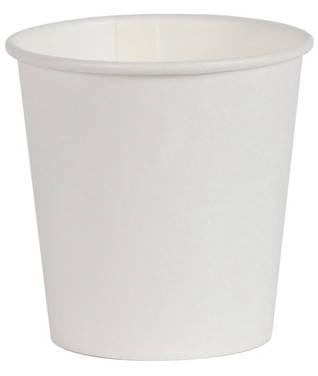 Стакан бумажный белый 110 мл Лорипласт в уп. по 50 шт., фото 2