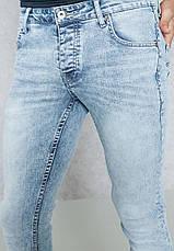Мужские светлые джинсы skinny Dexter от !Solid (Дания) в размере W32/L34, фото 2