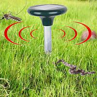 Отпугиватель кротов, змей и других вредителей на солнечной батарее Solar Repeller