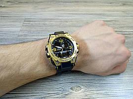 Часы G-шоки, золотистые