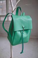 Кожаный городской рюкзак Summer   Мята, фото 1