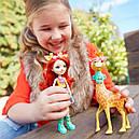 Кукла Enchantimals жираф Джиллиан с большой зверюшкой FKY74, фото 8
