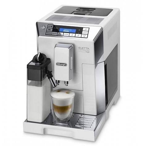 Кофемашина автоматическая Delonghi ECAM 45.760.W Eletta Cappuccino TOP, фото 2