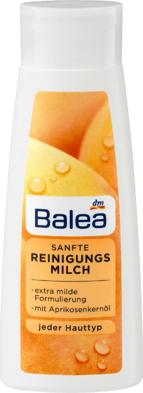 Нежное очищающее молочко Balea Sanfte Reinigungsmilch, 200 ml