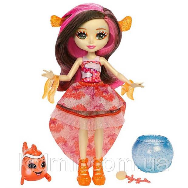 Лялька Enchantimals риба клоун Кларита Морські подружки FKV56
