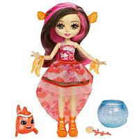 Энчантималс Морские подружки Кларита кукла меняет цвет волос Enchantimals Clarita Clownfish