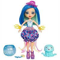 Энчантималс Морские подружки Джесса кукла меняет цвет волос Enchantimals Jessa Jellyfish